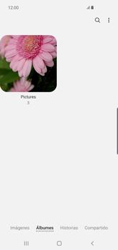 Transferir fotos vía Bluetooth - Samsung S10+ - Passo 6