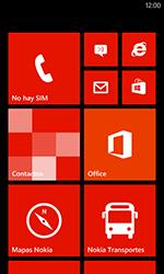 Restaura la configuración de fábrica - Nokia Lumia 620 - Passo 1