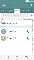 ¿Tu equipo puede copiar contactos a la SIM card? - LG C50 - Passo 4