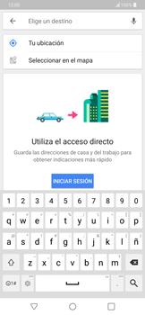 Uso de la navegación GPS - LG G7 ThinQ - Passo 12