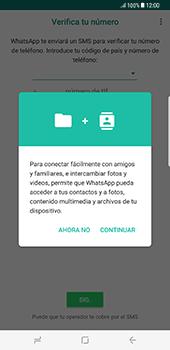 Configuración de Whatsapp - Samsung Galaxy S8+ - Passo 5