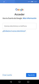 Crea una cuenta - Huawei Mate 20 Lite - Passo 3