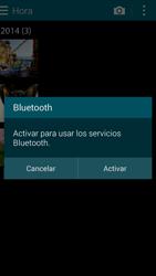 Transferir fotos vía Bluetooth - Samsung Galaxy Alpha - G850 - Passo 9