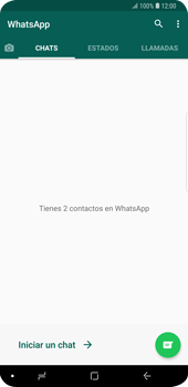 Usar WhatsApp - Samsung Galaxy S9 Plus - Passo 3
