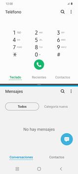 Cómo ver dos aplicaciones a la vez en pantalla - Samsung Galaxy S20 - Passo 8