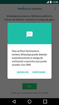 Configuración de Whatsapp - LG V20 - Passo 10