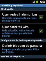 Uso de la navegación GPS - Samsung Galaxy Y  GT - S5360 - Passo 9