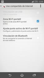 Configura el hotspot móvil - Sony Xperia Z2 D6503 - Passo 13