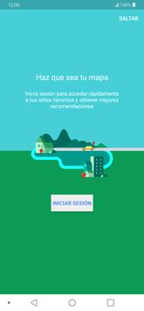 Uso de la navegación GPS - LG G7 ThinQ - Passo 4