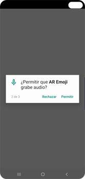 Emoji AR - Samsung S10+ - Passo 7