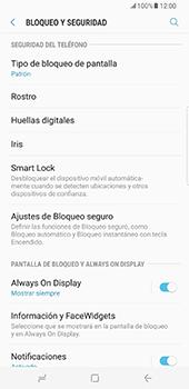 Desbloqueo del equipo por medio del patrón - Samsung Galaxy S8+ - Passo 13