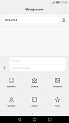 Envía fotos, videos y audio por mensaje de texto - Huawei Cam Y6 II - Passo 10