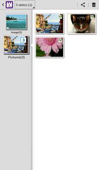 Transferir fotos vía Bluetooth - Samsung Galaxy Tab 3 7.0 - Passo 9