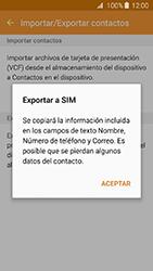 ¿Tu equipo puede copiar contactos a la SIM card? - Samsung Galaxy J3 - J320 - Passo 9