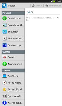 Restaura la configuración de fábrica - Samsung Galaxy Tab 3 7.0 - Passo 4