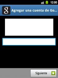 Crea una cuenta - Samsung Galaxy Y  GT - S5360 - Passo 17