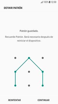Desbloqueo del equipo por medio del patrón - Samsung Galaxy J7 Prime - Passo 8