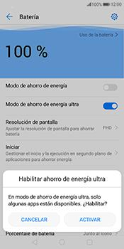 Modo de ahorro de batería - Huawei Mate 10 Pro - Passo 4