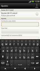 Configura el hotspot móvil - HTC One S - Passo 8