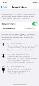 Comparte la conexión de datos con una PC - Apple iPhone XS - Passo 8