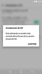 Actualiza el software del equipo - LG K10 2017 - Passo 11