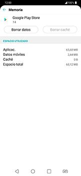 Limpieza de aplicación - LG G7 Fit - Passo 8