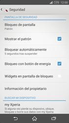 Desbloqueo del equipo por medio del patrón - Sony Xperia Z2 D6503 - Passo 11