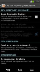 Restaura la configuración de fábrica - LG G Flex - Passo 6