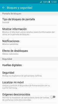 Desbloqueo del equipo por medio del patrón - Samsung Galaxy Note 5 - N920 - Passo 5
