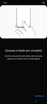 Habilitar seguridad de huella digital - Samsung Galaxy A51 - Passo 14