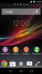 Realiza una copia de seguridad de la memoria - Sony Xperia M2 Aqua D2303 - Passo 1