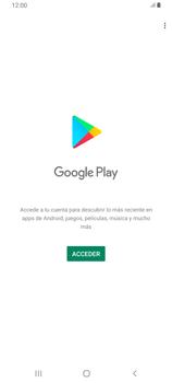 Crea una cuenta - Samsung Galaxy A80 - Passo 3