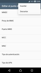 Configura el Internet - Sony Xperia XZ Premium - Passo 16