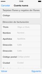 Crea una cuenta - Apple iPhone 5s - Passo 19