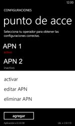 Configura el Internet - Nokia Lumia 720 - Passo 21