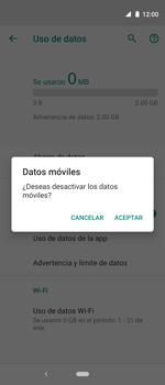 Desactiva tu conexión de datos - Motorola One Vision (Single SIM) - Passo 6