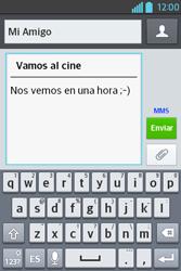 Envía fotos, videos y audio por mensaje de texto - LG L4 II - Passo 11