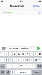 Envía fotos, videos y audio por mensaje de texto - Apple iPhone 8 - Passo 7