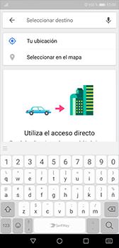 Uso de la navegación GPS - Huawei P20 - Passo 12
