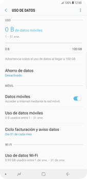 Verificar el uso de datos por apps - Samsung Galaxy S9 Plus - Passo 5