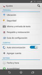 Restaura la configuración de fábrica - Sony Xperia Z3 Compact - Passo 4