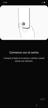 Habilitar seguridad de huella digital - Samsung Galaxy S10 Lite - Passo 12