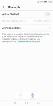 Conecta con otro dispositivo Bluetooth - Huawei Y7 (2018) - Passo 5