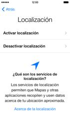 Activa el equipo - Apple iPhone 5c - Passo 8