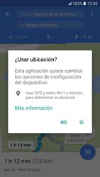 Uso de la navegación GPS - Samsung Galaxy S7 - G930 - Passo 17