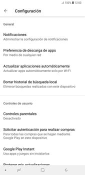 Cambiar configuración de actualizaciones de aplicaciones - Samsung A7 2018 - Passo 8