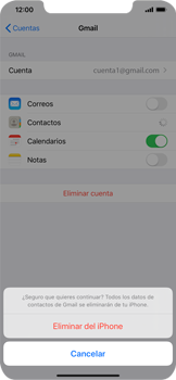 Desactivar la sincronización automática - Apple iPhone 11 - Passo 6