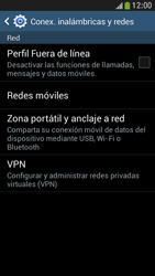 Configura el hotspot móvil - Samsung Galaxy S4 Mini - Passo 5