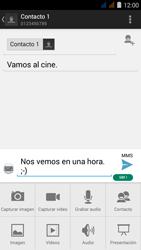 Envía fotos, videos y audio por mensaje de texto - Acer Liquid Z410 - Passo 12