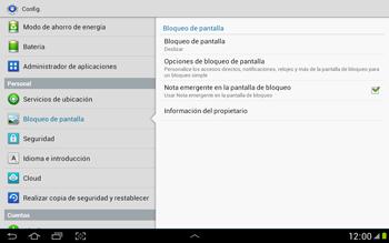 Desbloqueo del equipo por medio del patrón - Samsung Galaxy Note 10-1 - N8000 - Passo 5